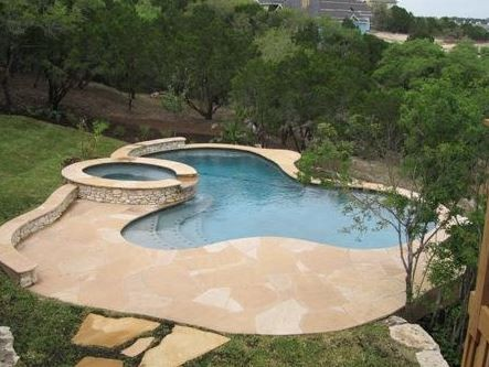 Let Your Pool Take Shape With Free Form Pools Pool Builders Round Rock Tx Pool Remodeling
